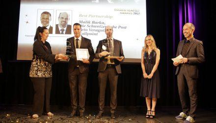 Die Post und Callpoint gewinnen Bestpartnership Award 2017