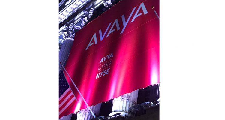 Börsegang Avaya