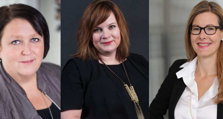 Antje Lehmann, Carglass, Mirjam Gosetti, TCS, Beatrix Riner, Basler