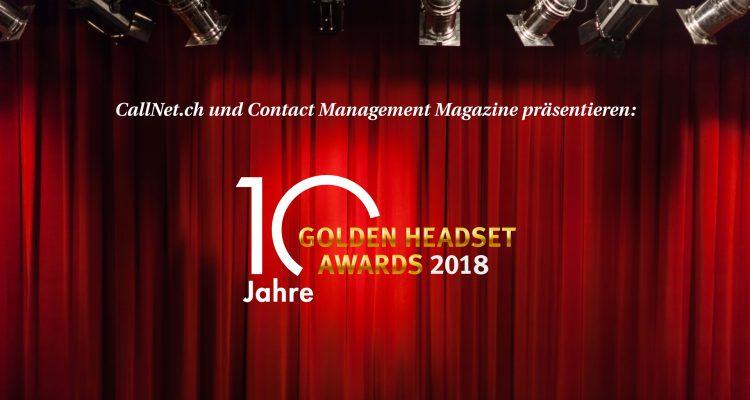 Golden Headset Awards 2018